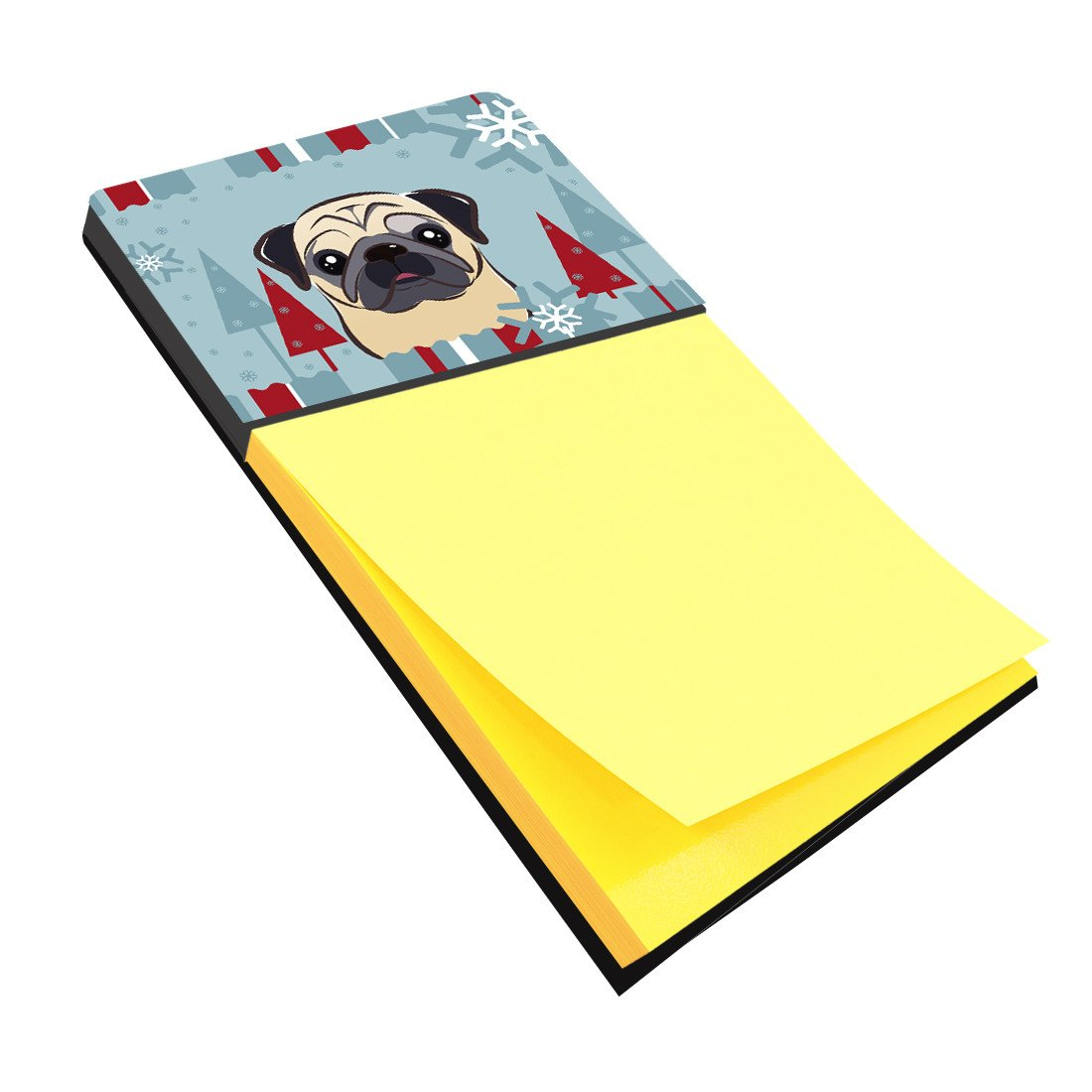 Buy this Winter Holiday Fawn Pug Sticky Note Holder BB1758SN