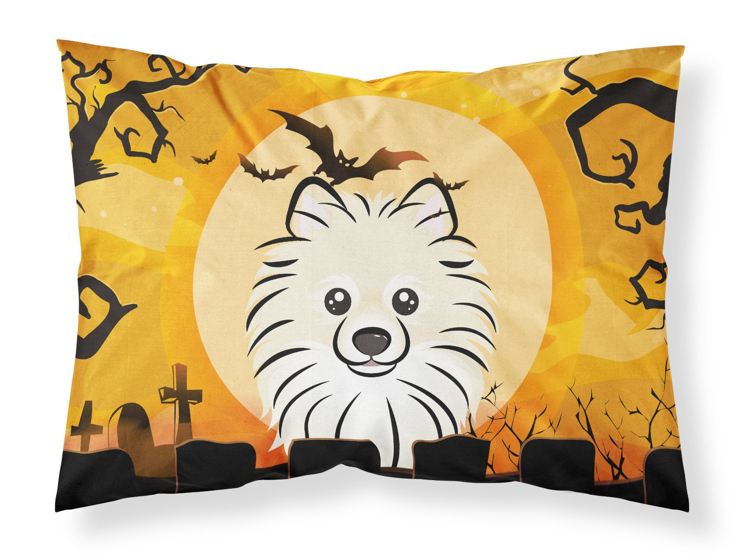 Buy this Halloween Pomeranian Fabric Standard Pillowcase BB1765PILLOWCASE