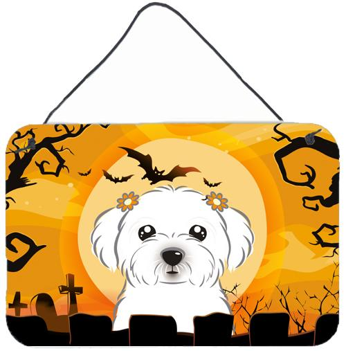 Buy this Halloween Maltese Wall or Door Hanging Prints BB1766DS812
