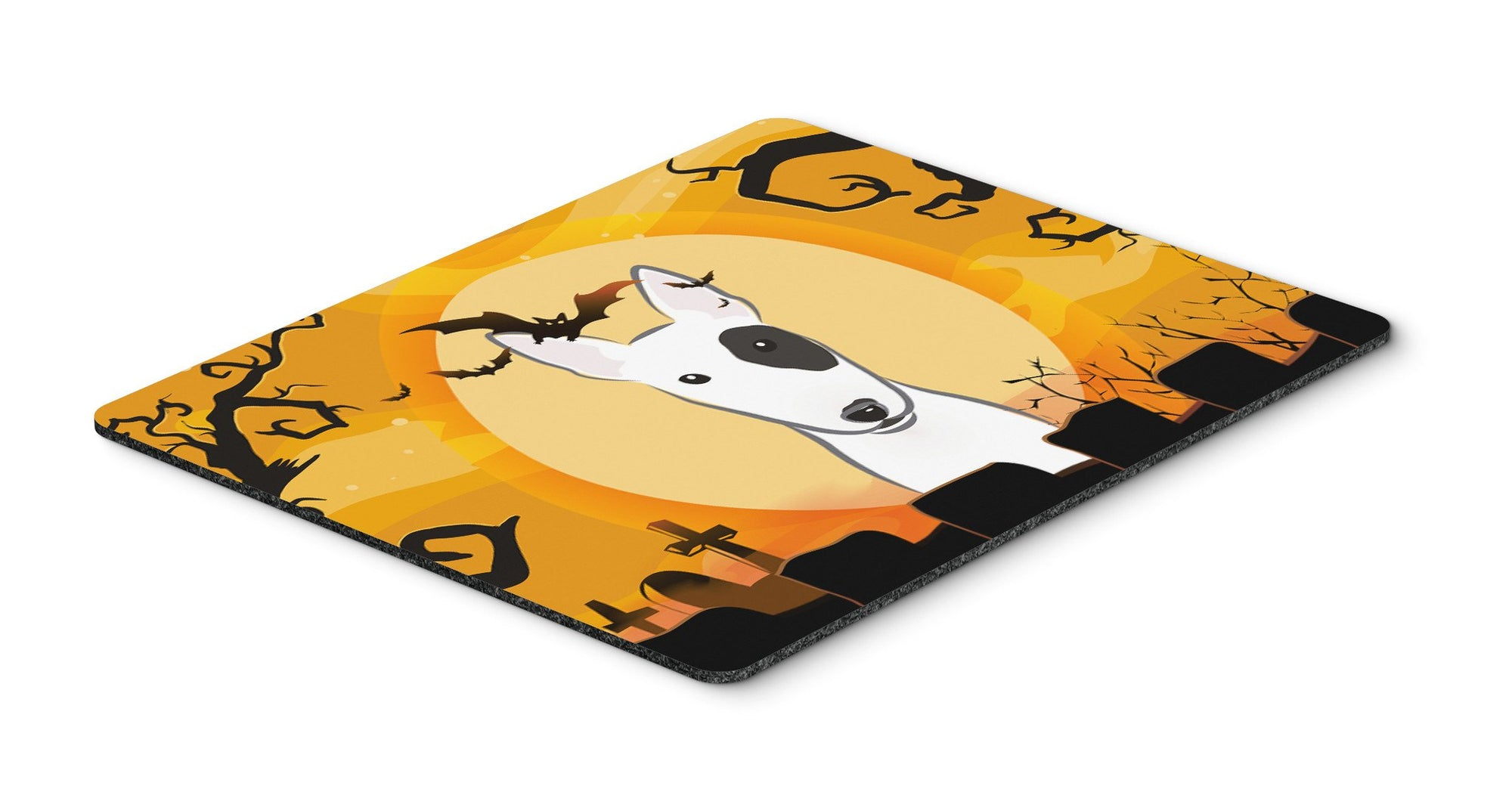 Buy this Halloween Bull Terrier Mouse Pad, Hot Pad or Trivet BB1767MP