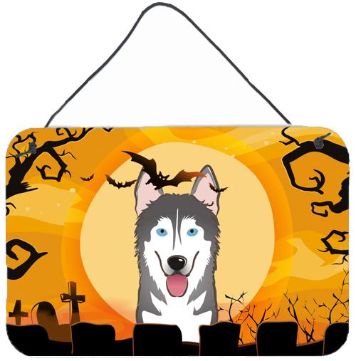 Buy this Halloween Alaskan Malamute Wall or Door Hanging Prints BB1776DS812