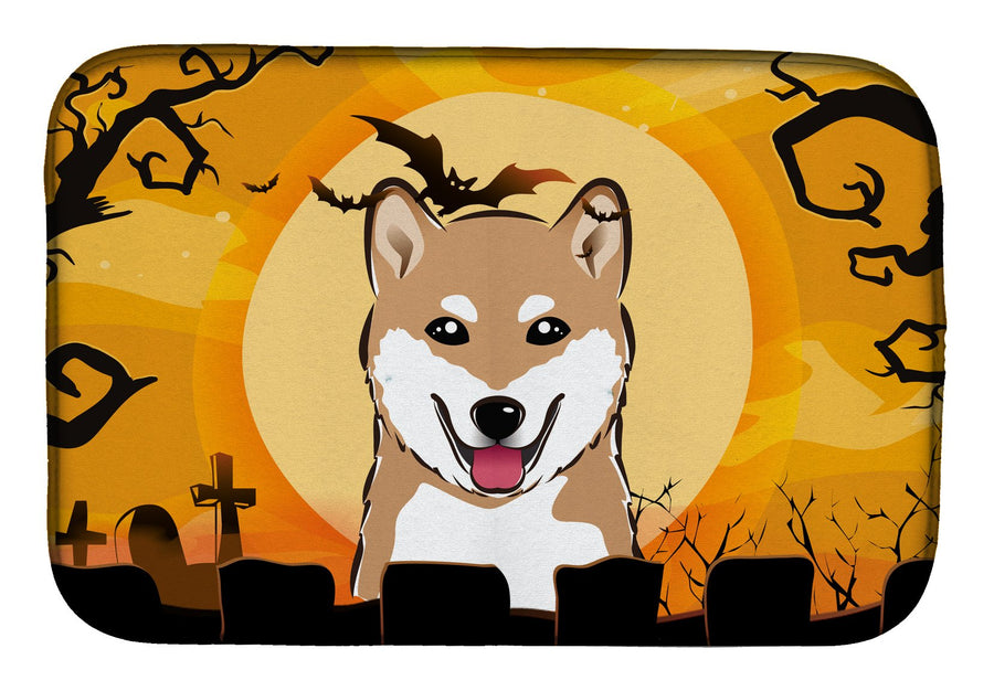 Buy this Halloween Shiba Inu Dish Drying Mat BB1783DDM