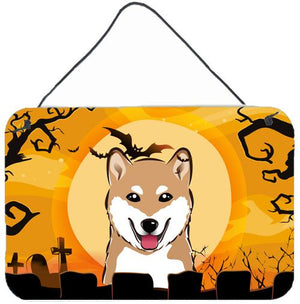 Buy this Halloween Shiba Inu Wall or Door Hanging Prints BB1783DS812
