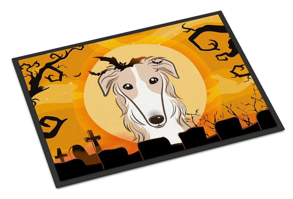 Buy this Halloween Borzoi Indoor or Outdoor Mat 24x36 BB1786JMAT