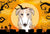 Halloween Borzoi Fabric Placemat BB1786PLMT by Caroline's Treasures