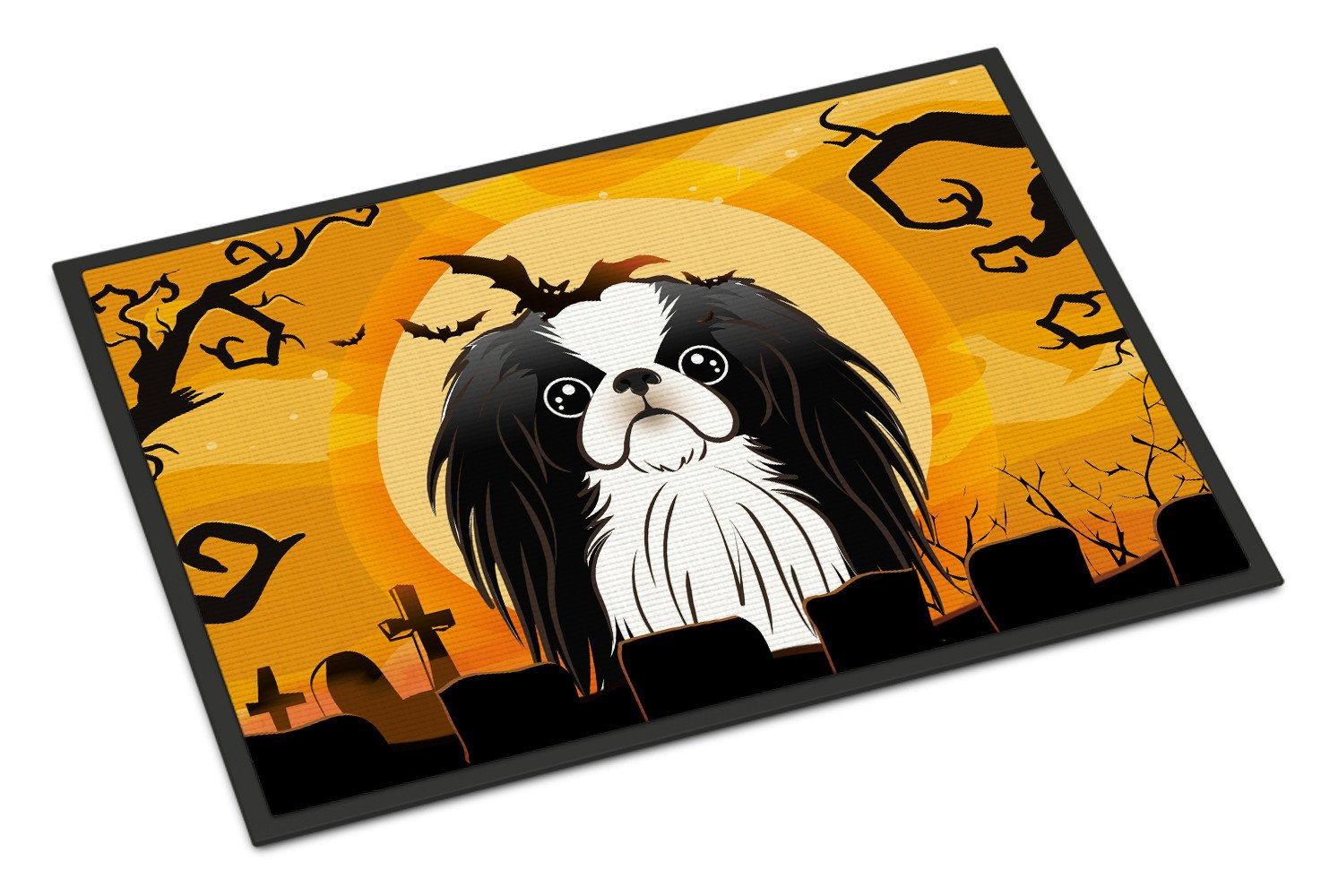Halloween Japanese Chin Indoor or Outdoor Mat 18x27 BB1788MAT - the-store.com