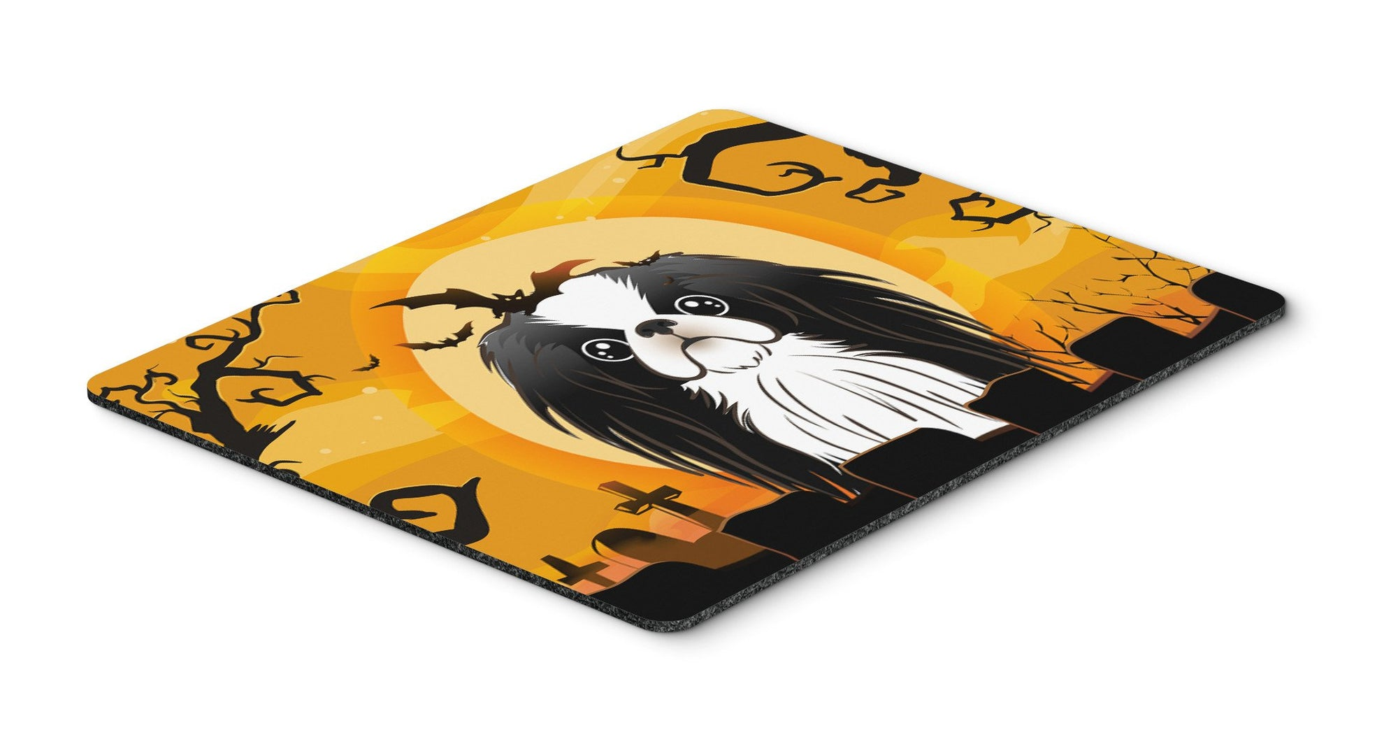 Halloween Japanese Chin Mouse Pad, Hot Pad or Trivet BB1788MP by Caroline's Treasures
