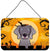 Buy this Halloween Weimaraner Wall or Door Hanging Prints BB1789DS812