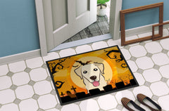 Halloween Golden Retriever Indoor or Outdoor Mat 24x36 BB1810JMAT