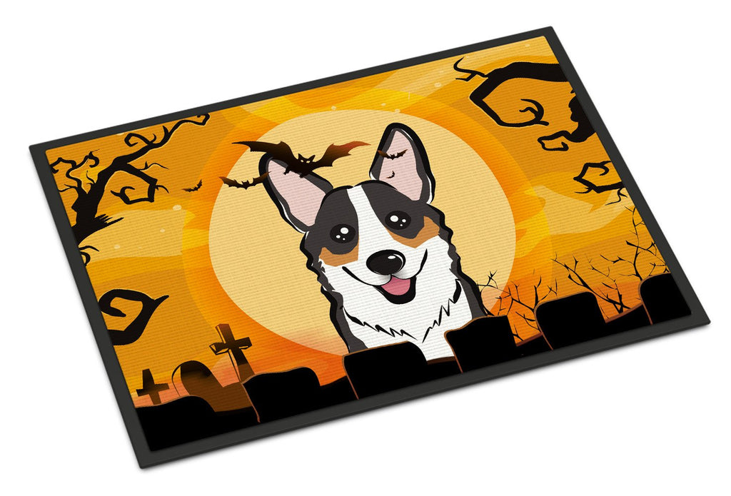 Buy this Halloween Tricolor Corgi Indoor or Outdoor Mat 18x27 BB1813MAT