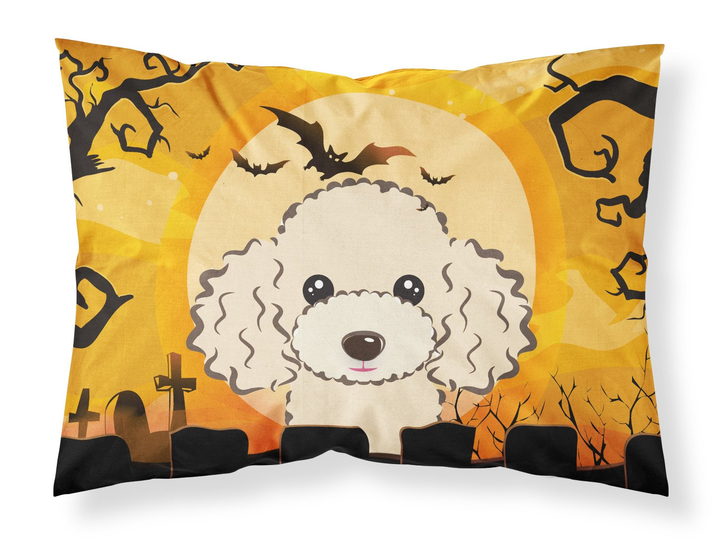 Buy this Halloween Buff Poodle Fabric Standard Pillowcase BB1816PILLOWCASE