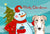 Snowman with Borzoi Fabric Placemat BB1848PLMT by Caroline's Treasures