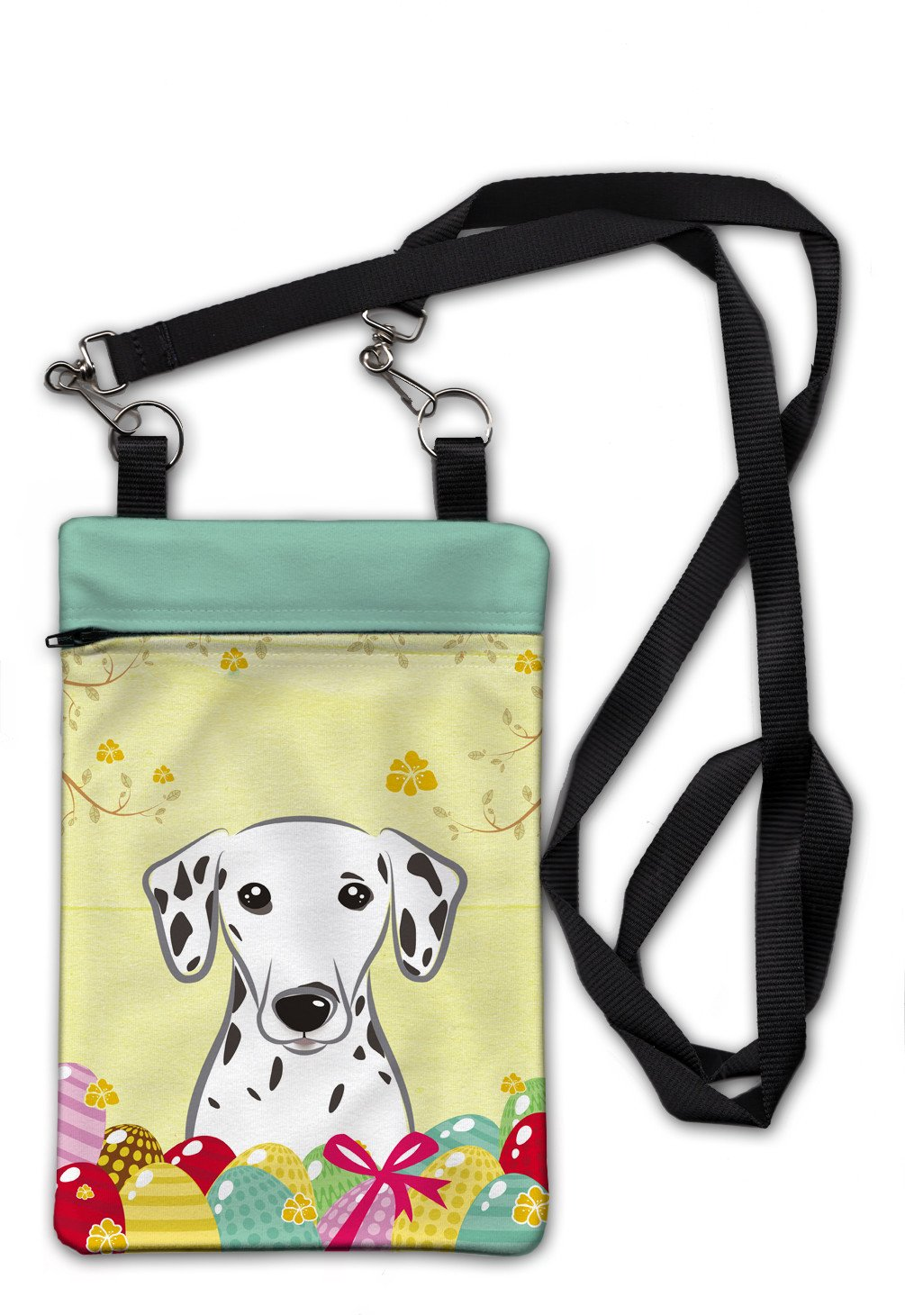 Dalmatian Easter Egg Hunt Crossbody Bag Purse BB1892OBDY by Caroline's Treasures