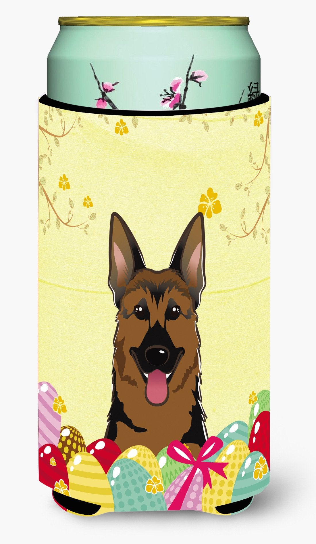 German Shepherd Easter Egg Hunt Tall Boy Beverage Insulator Hugger BB1893TBC by Caroline's Treasures
