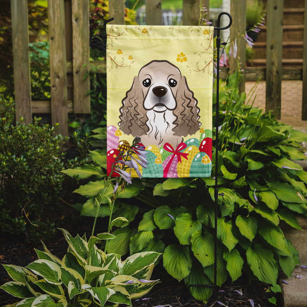 Buy this Cocker Spaniel Easter Egg Hunt Flag Garden Size BB1898GF