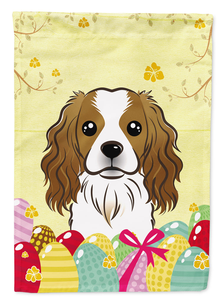 Buy this Cavalier Spaniel Easter Egg Hunt Flag Canvas House Size BB1906CHF