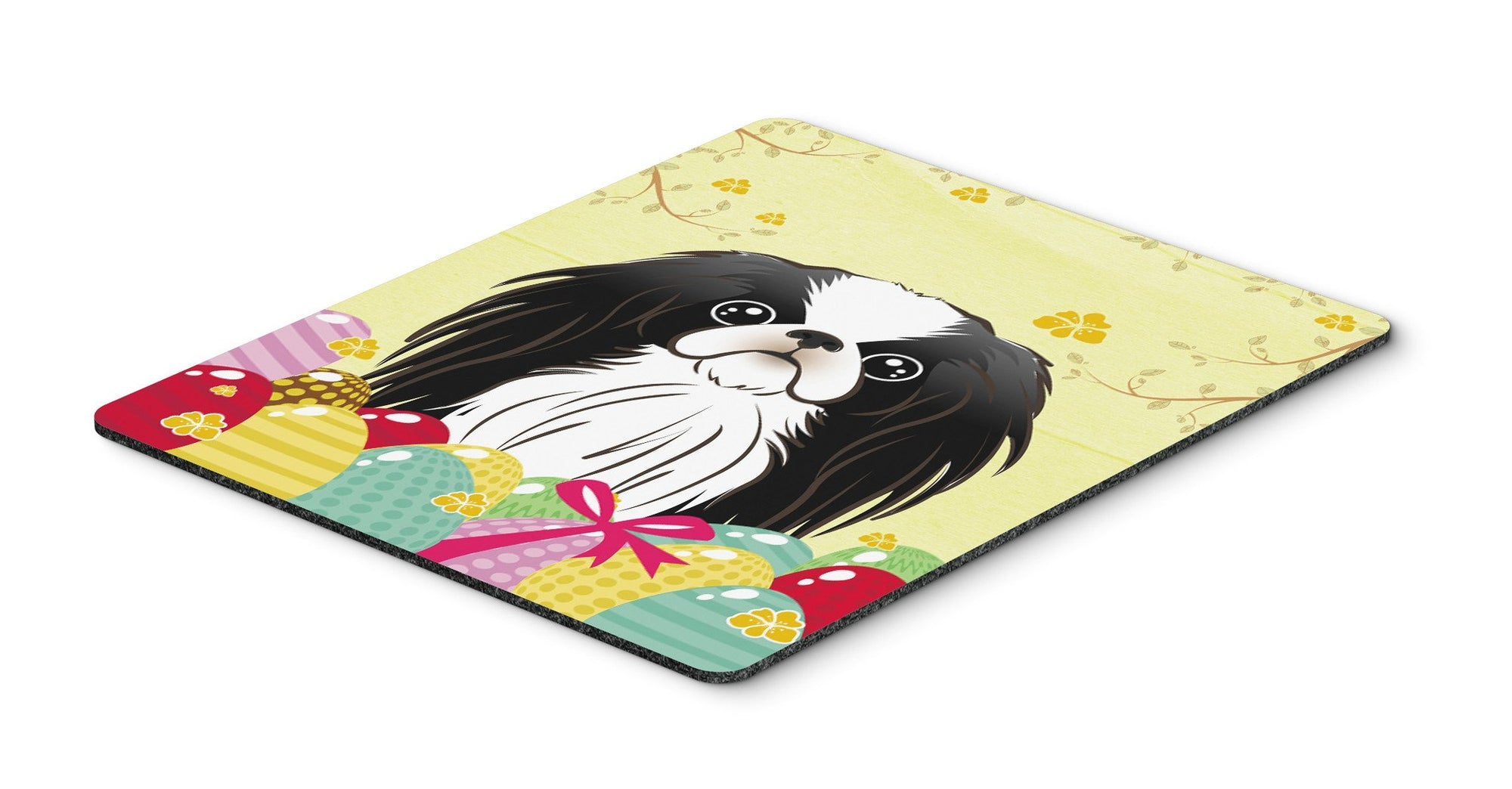 Japanese Chin Easter Egg Hunt Mouse Pad, Hot Pad or Trivet BB1912MP by Caroline's Treasures