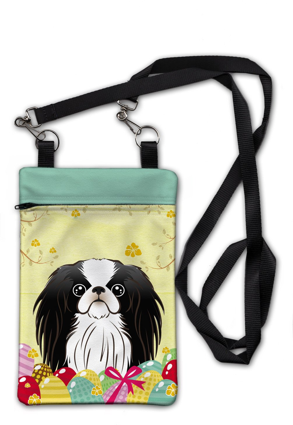 Japanese Chin Easter Egg Hunt Crossbody Bag Purse BB1912OBDY by Caroline's Treasures