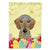 Buy this Wirehaired Dachshund Easter Egg Hunt Flag Garden Size BB1915GF
