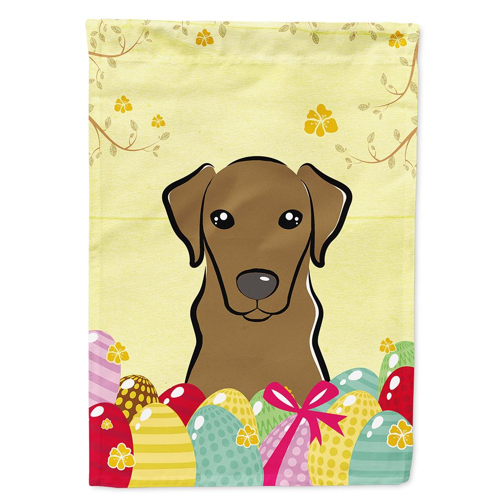 Buy this Chocolate Labrador Easter Egg Hunt Flag Garden Size BB1916GF