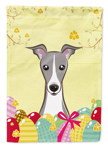 Buy this Italian Greyhound Easter Egg Hunt Flag Canvas House Size BB1918CHF