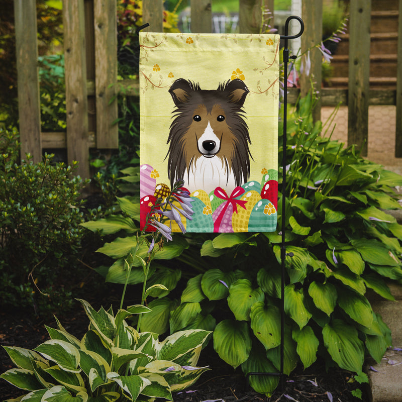 Buy this Sheltie Easter Egg Hunt Flag Garden Size BB1924GF