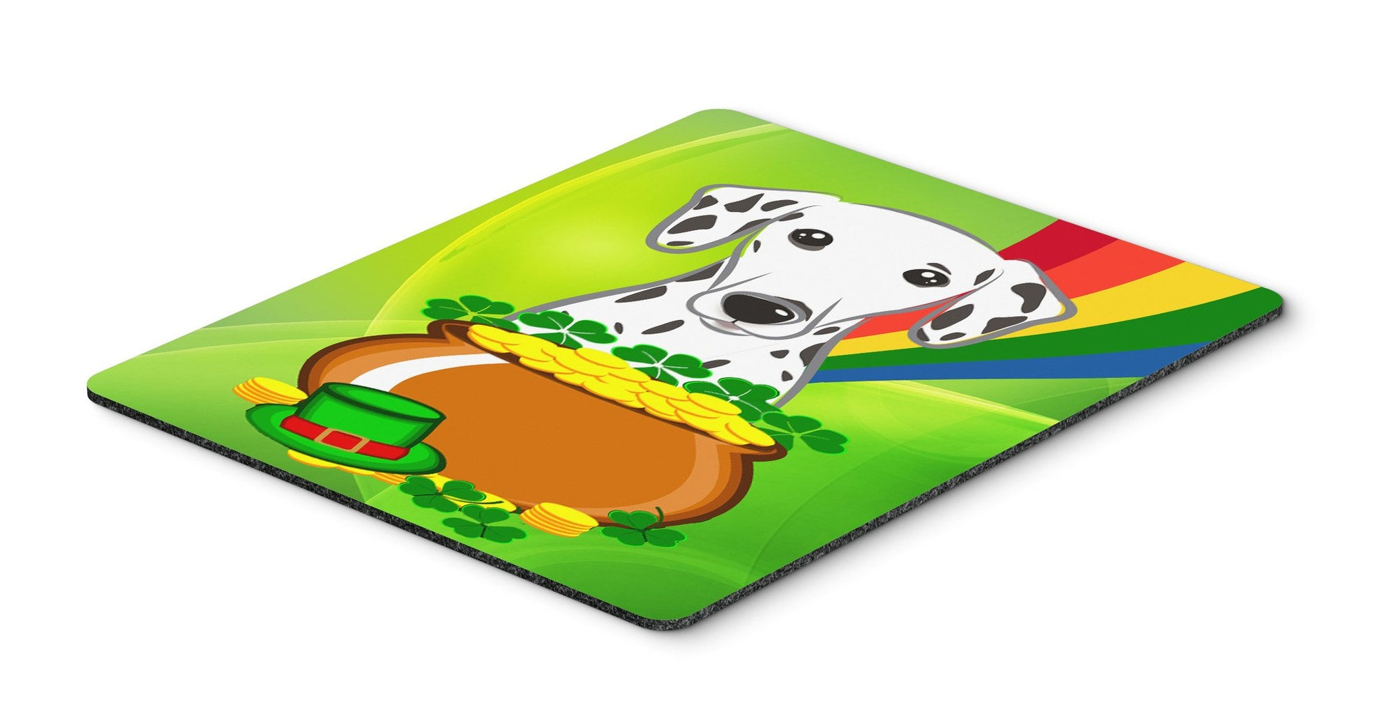 Dalmatian St. Patrick's Day Mouse Pad, Hot Pad or Trivet BB1954MP by Caroline's Treasures