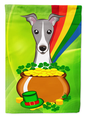 Buy this Italian Greyhound St. Patrick's Day Flag Canvas House Size BB1980CHF