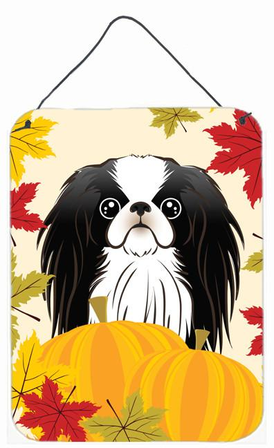 Japanese Chin Thanksgiving Wall or Door Hanging Prints BB2036DS1216 by Caroline's Treasures