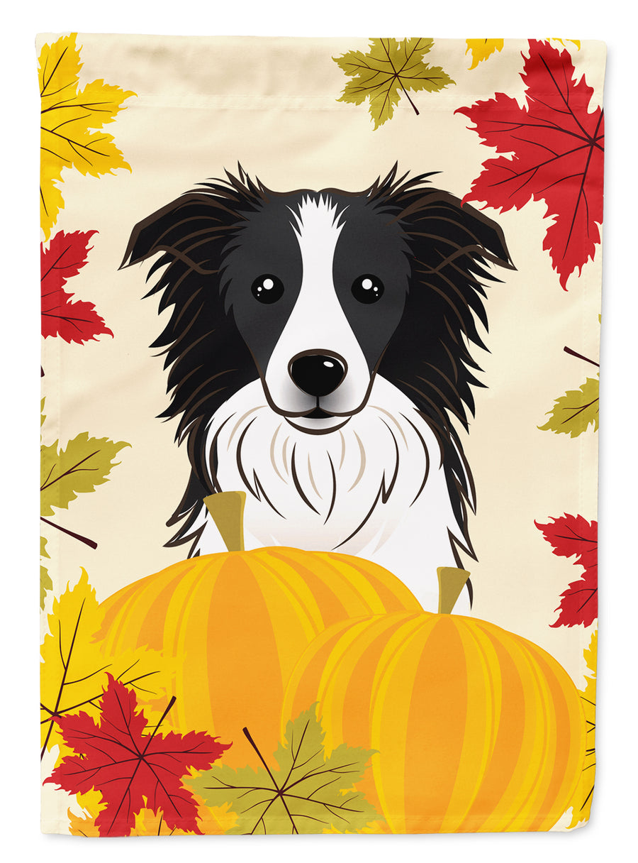 Buy this Border Collie Thanksgiving Flag Canvas House Size BB2047CHF