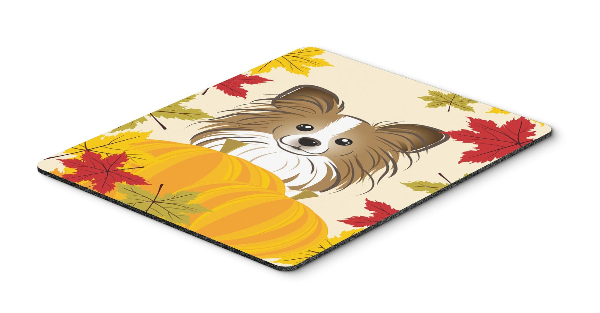 Papillon Thanksgiving Mouse Pad, Hot Pad or Trivet BB2054MP by Caroline's Treasures
