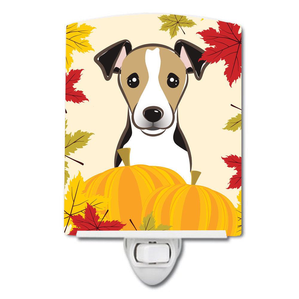Jack Russell Terrier Thanksgiving Ceramic Night Light BB2067CNL by Caroline's Treasures