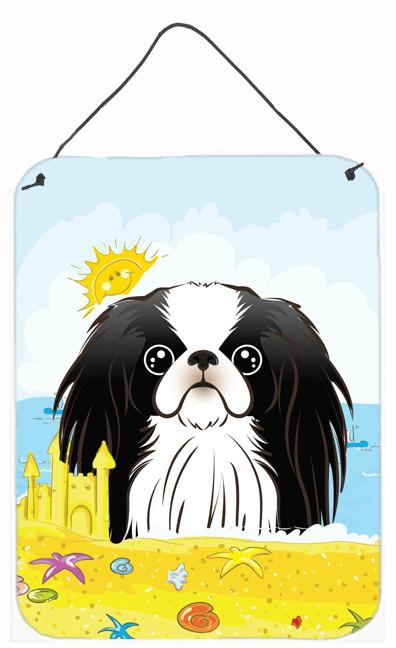 Japanese Chin Summer Beach Wall or Door Hanging Prints BB2098DS1216 by Caroline's Treasures