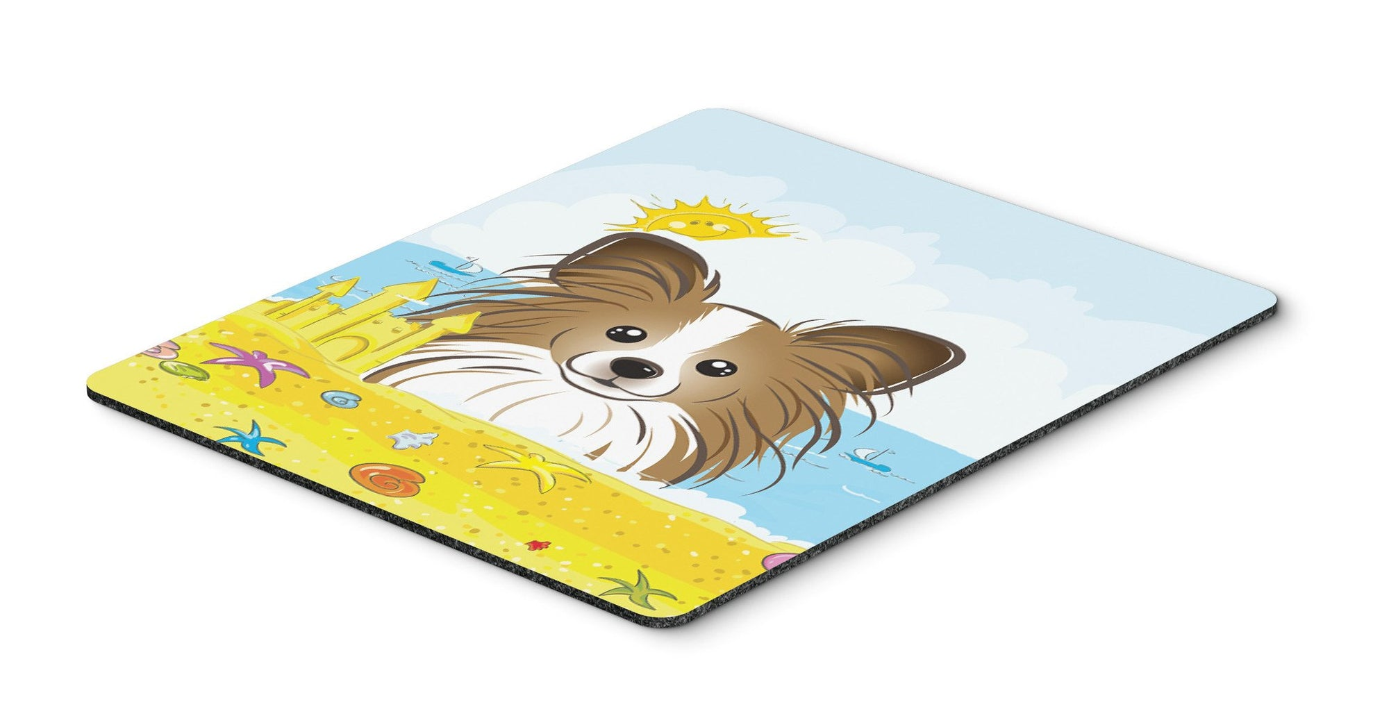 Papillon Summer Beach Mouse Pad, Hot Pad or Trivet BB2116MP by Caroline's Treasures