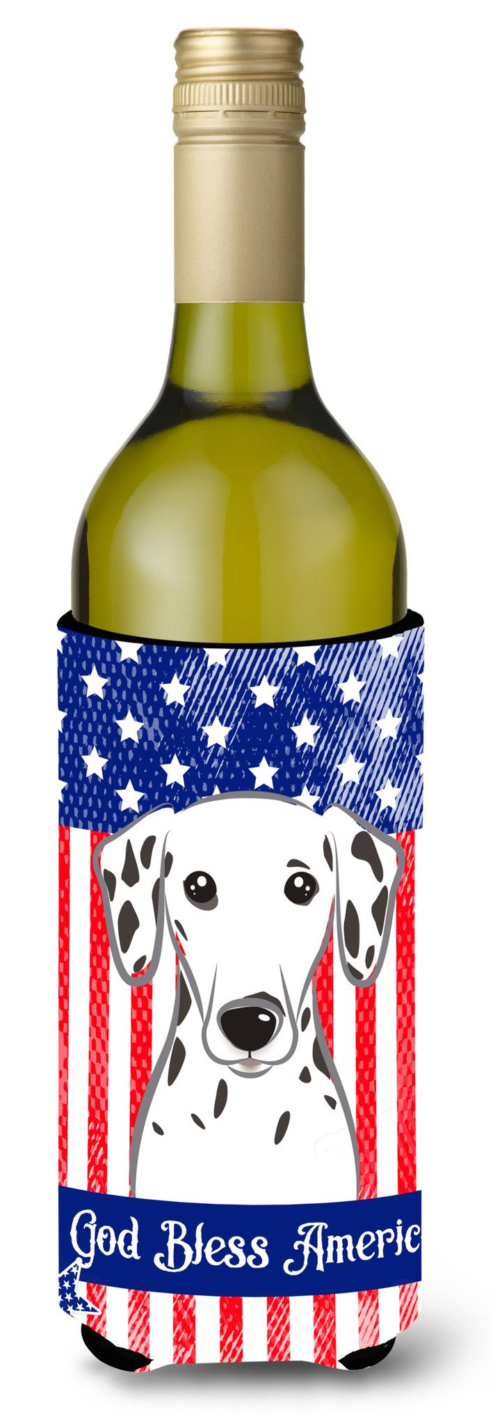 Dalmatian Wine Bottle Beverage Insulator Hugger BB2140LITERK by Caroline's Treasures