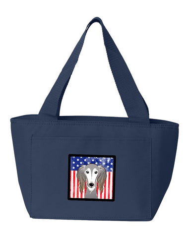 Buy this American Flag and Saluki Lunch Bag BB2159NA-8808