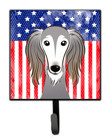 Buy this American Flag and Saluki Leash or Key Holder BB2159SH4