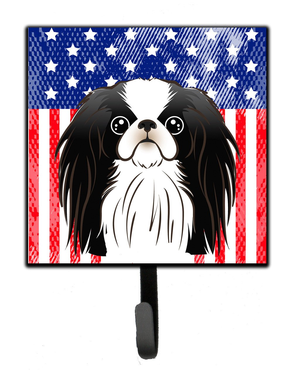 American Flag and Japanese Chin Leash or Key Holder BB2160SH4 by Caroline's Treasures