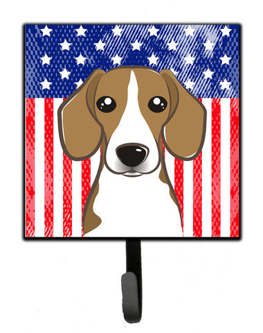 Buy this American Flag and Beagle Leash or Key Holder BB2169SH4