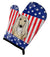 American Flag and Afghan Hound Oven Mitt BB2174OVMT by Caroline's Treasures