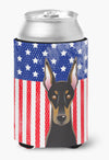Buy this American Flag and Doberman Can or Bottle Hugger BB2175CC