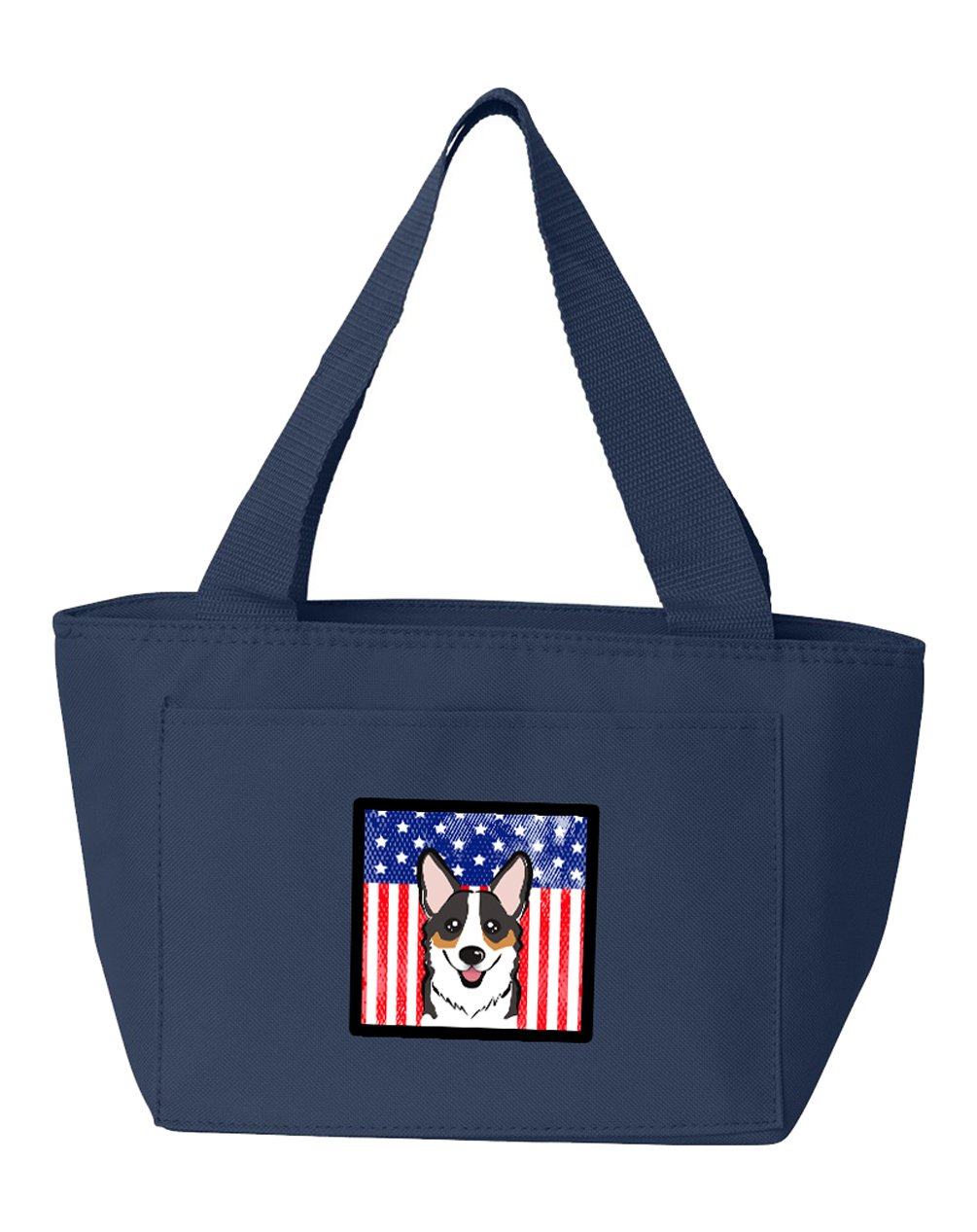 American Flag and Tricolor Corgi Lunch Bag BB2185NA-8808 by Caroline's Treasures