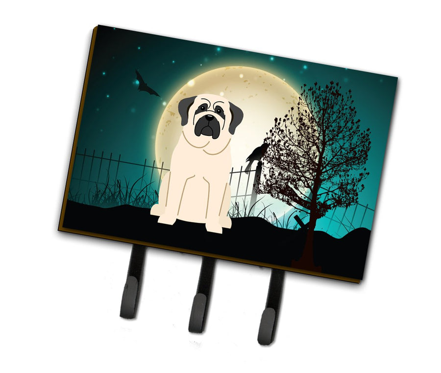 Buy this Halloween Scary Mastiff White Leash or Key Holder BB2207TH68