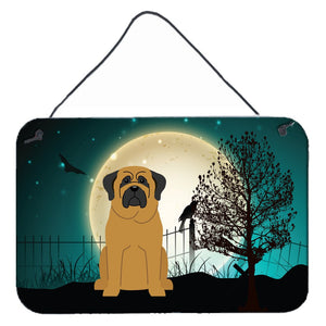 Buy this Halloween Scary Mastiff Wall or Door Hanging Prints BB2208DS812