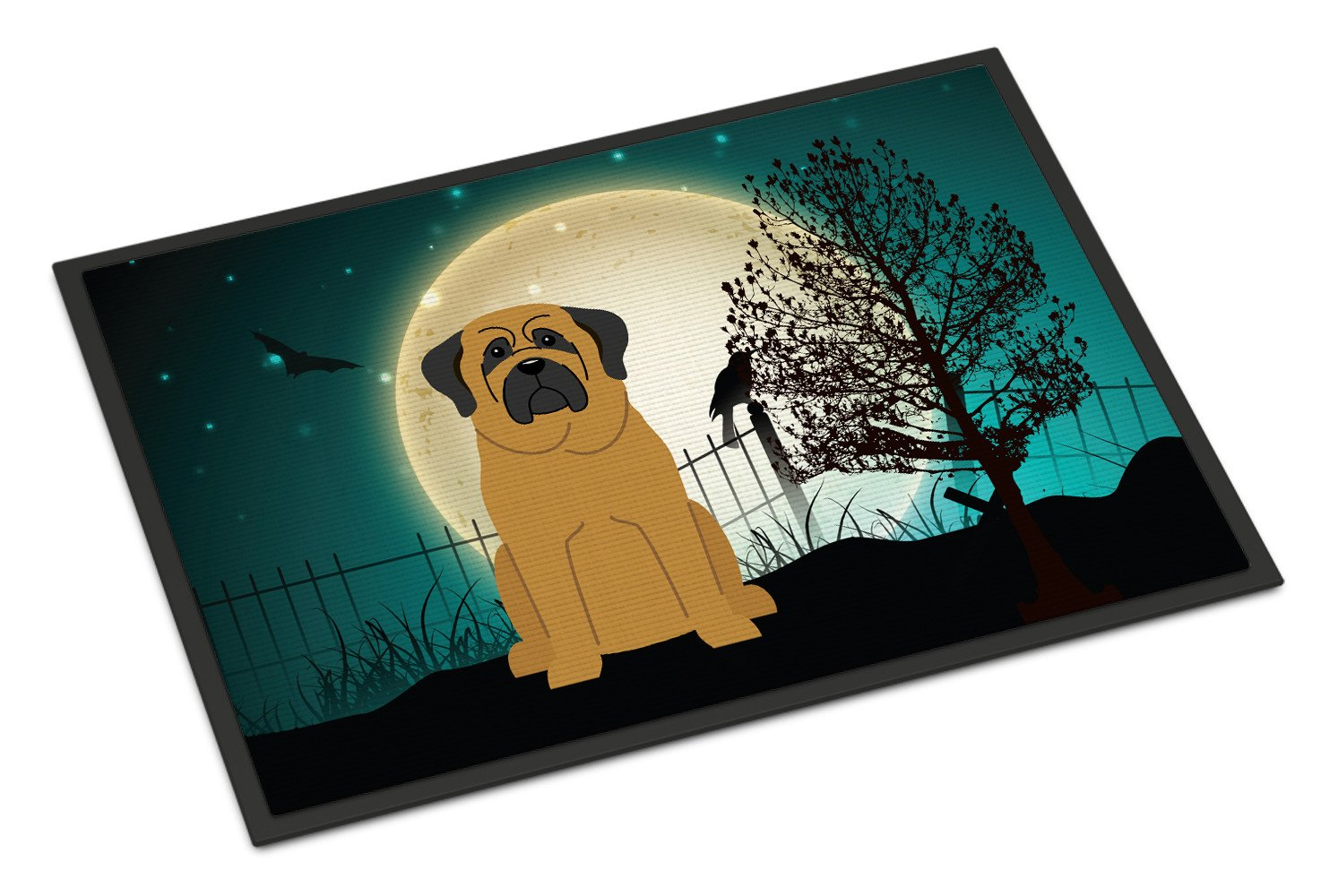 Buy this Halloween Scary Mastiff Indoor or Outdoor Mat 18x27 BB2208MAT