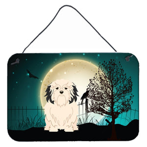 Buy this Halloween Scary Lowchen Wall or Door Hanging Prints
