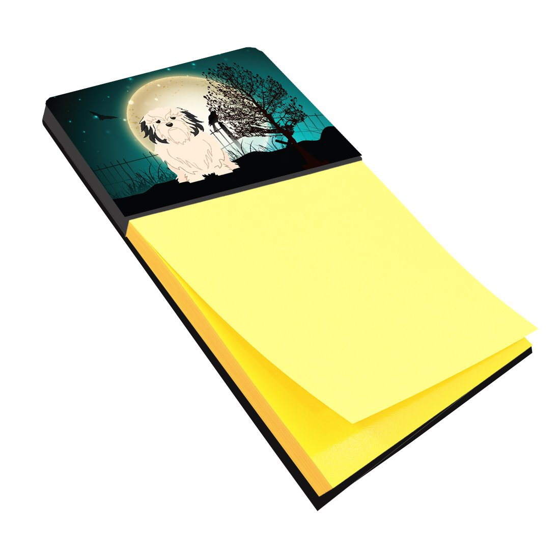 Buy this Halloween Scary Lowchen Sticky Note Holder BB2209SN