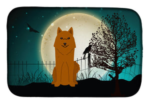 Buy this Halloween Scary Karelian Bear Dog Dish Drying Mat BB2212DDM
