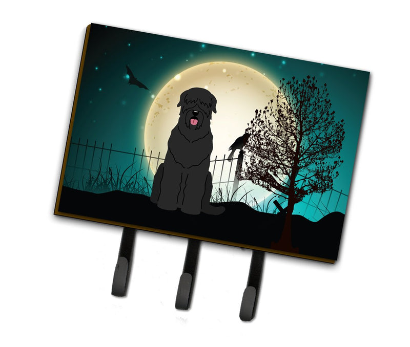 Buy this Halloween Scary Black Russian Terrier Leash or Key Holder BB2216TH68