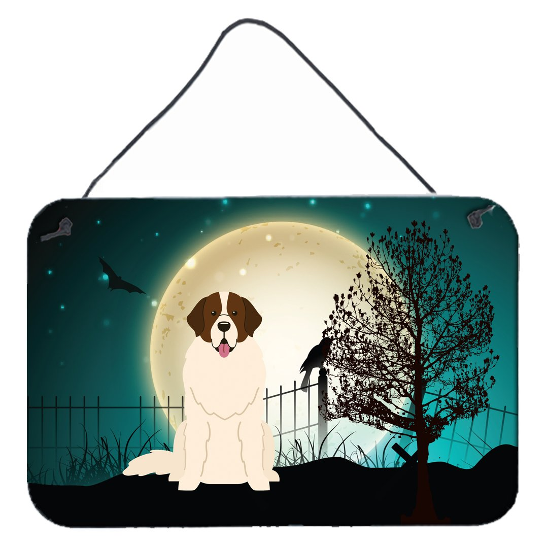 Halloween Scary Moscow Watchdog Wall or Door Hanging Prints BB2217DS812 by Caroline's Treasures
